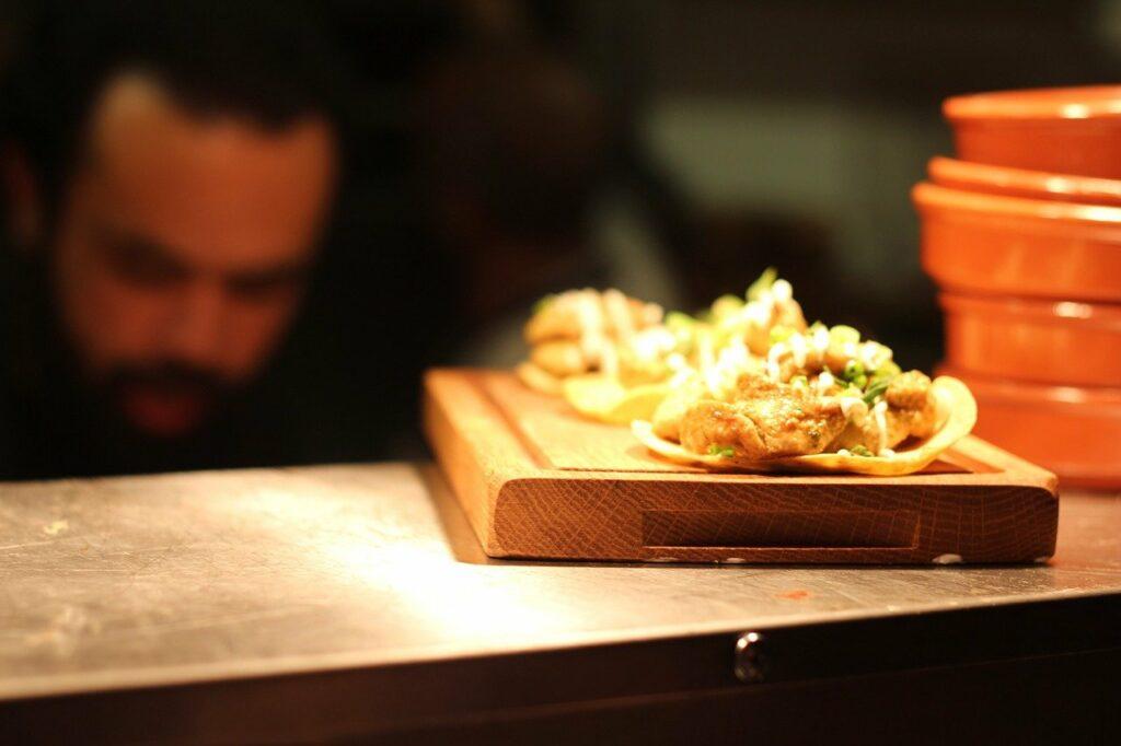 taco, tortilla, food